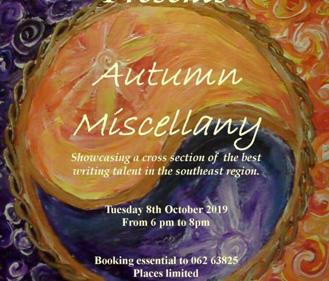 Cashel: Autumn Miscellany