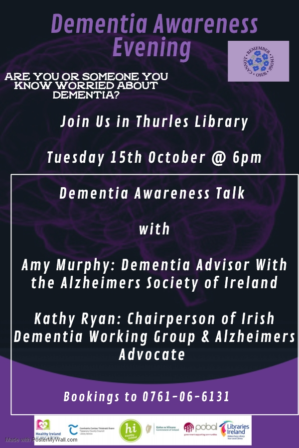 Dementia Awareness Talk In Thurles Library