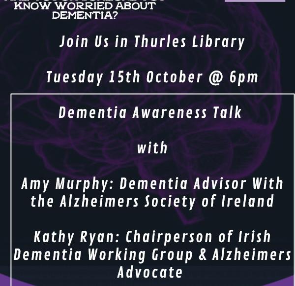 Dementia Awareness Evening Thurles Library