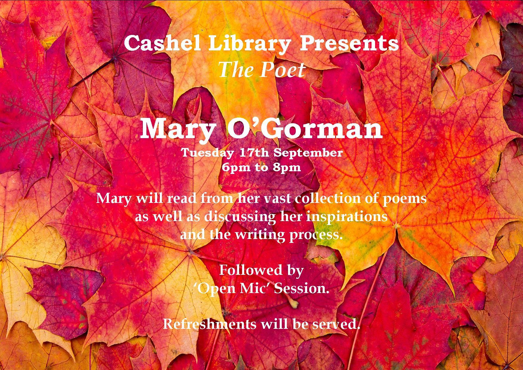 Mary O Gorman Poster