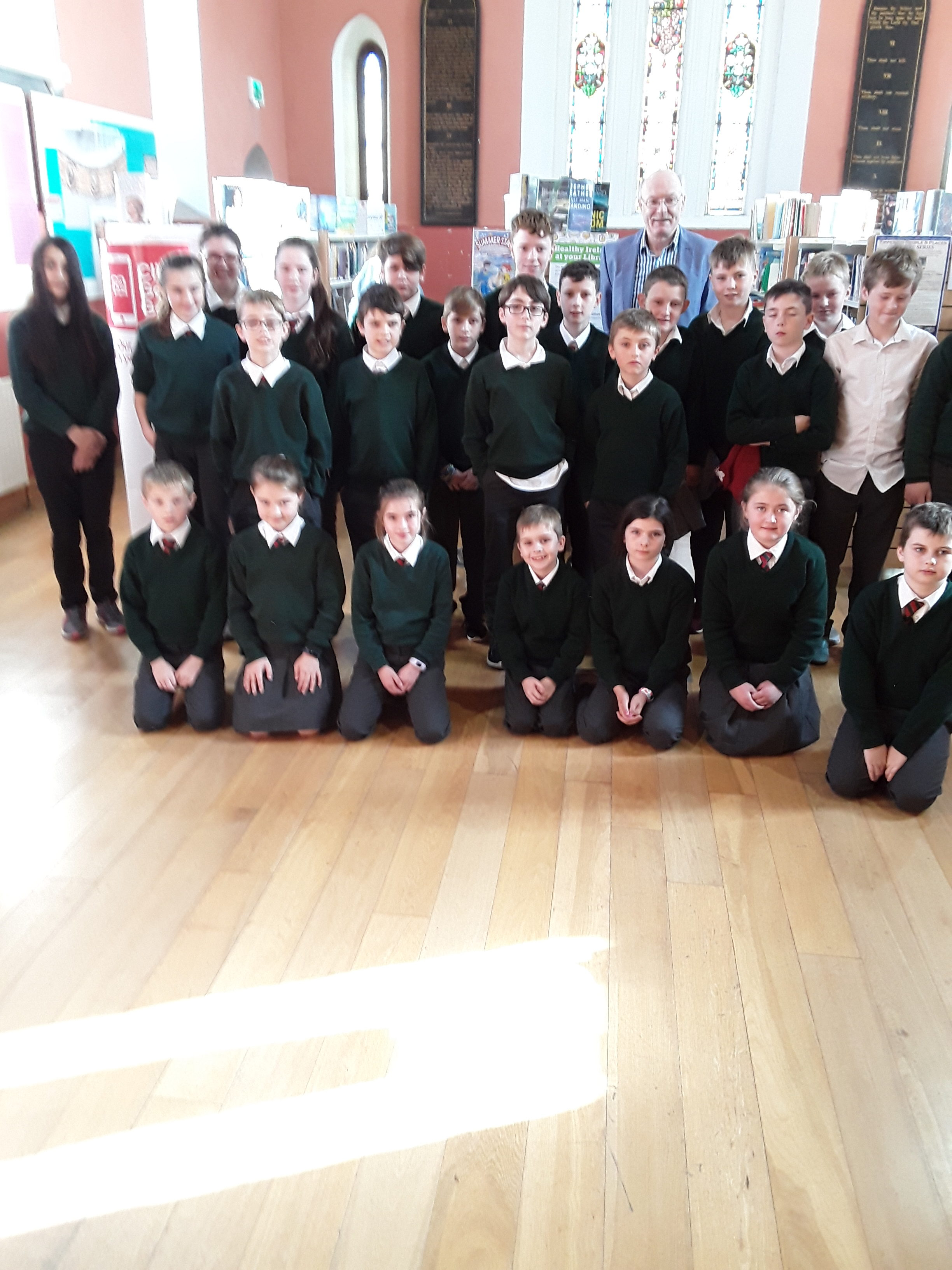 Brian Gallagher's Visit To Killenaule Library