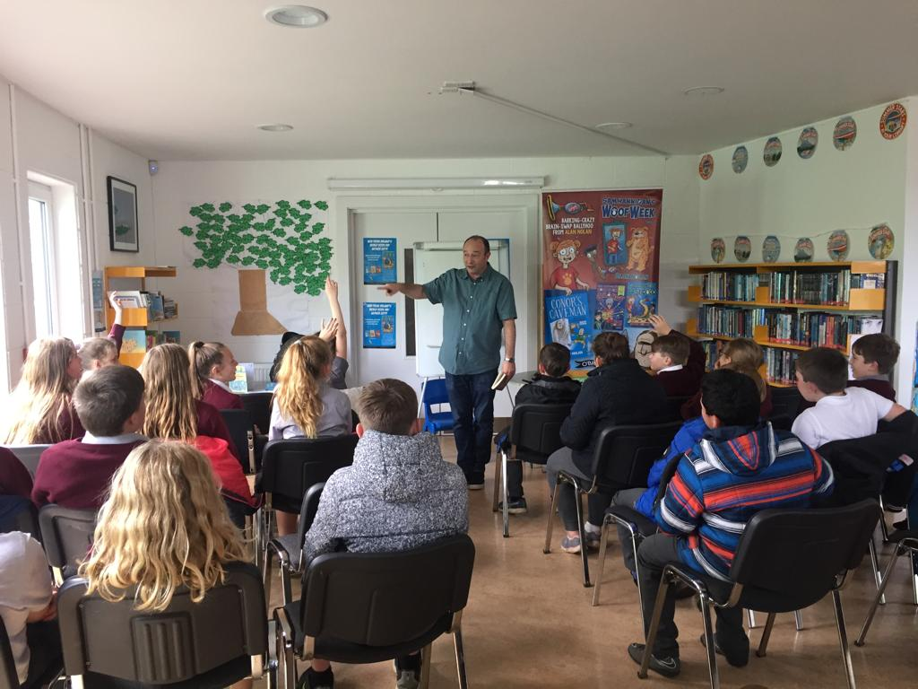 Author Alan Nolan Visits Cloughjordan Library