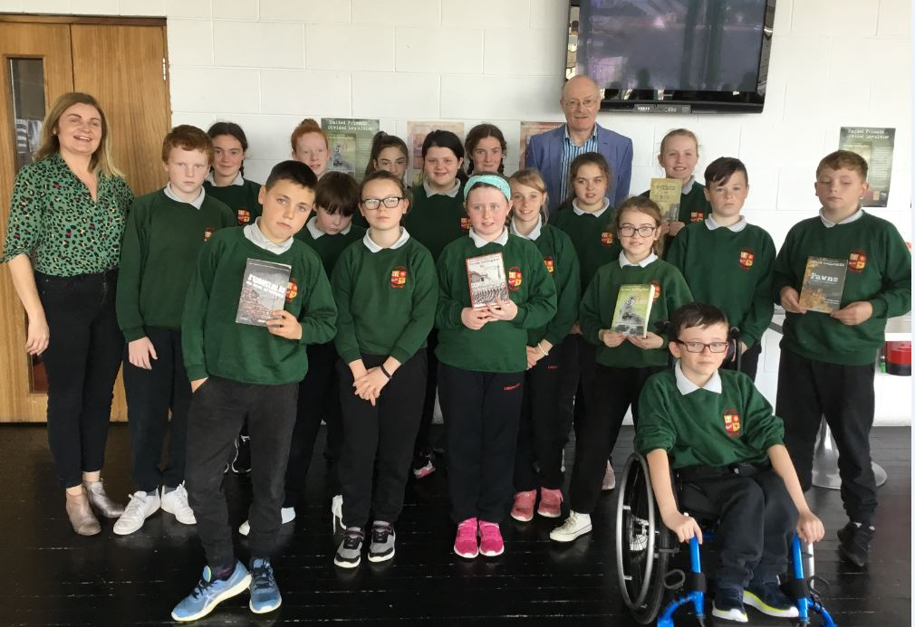 Author Brian Gallagher Visits Thurles Library For CBF