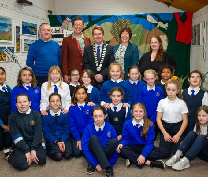 Cathaoirleach Cllr Michael Murphy Launches Children's Book Festival 2019