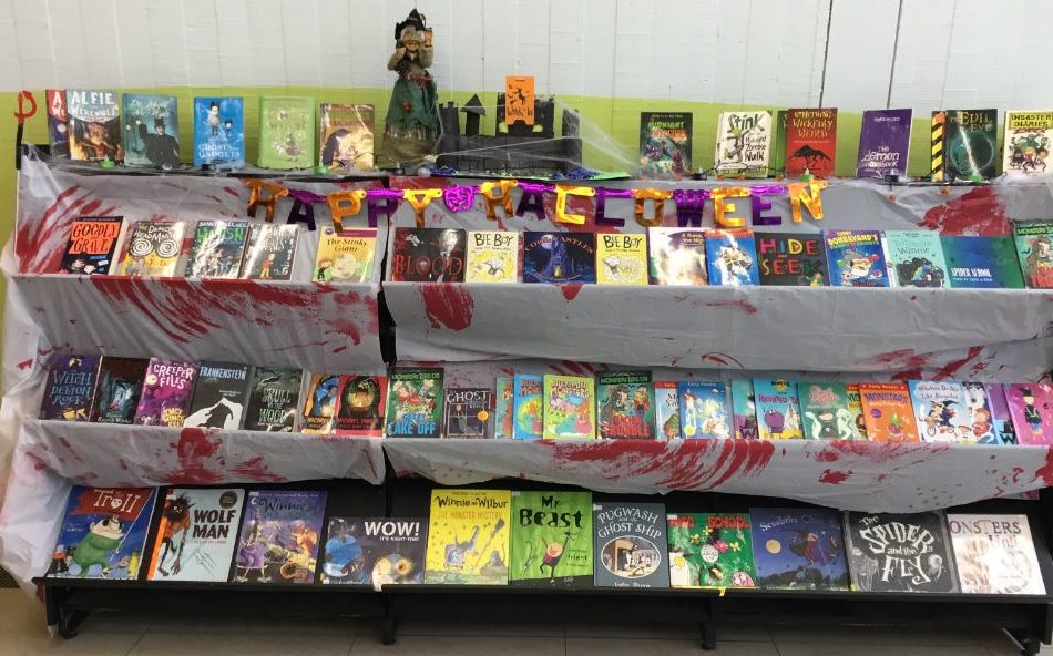 Thurles Library Prepares For HALLOWEEN!!!