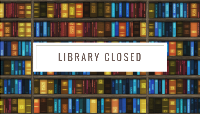 Templemore Library –  Closed Monday 27th July to Friday 7th August