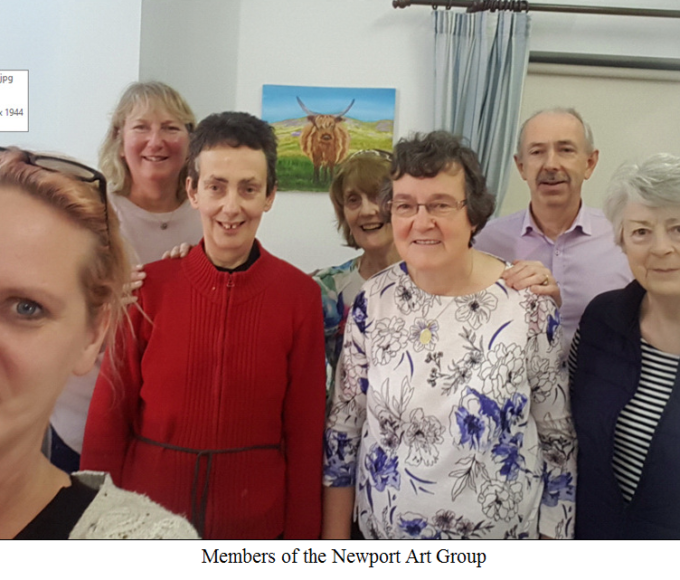 Newport Art Group Exhibiting In Nenagh Library For October