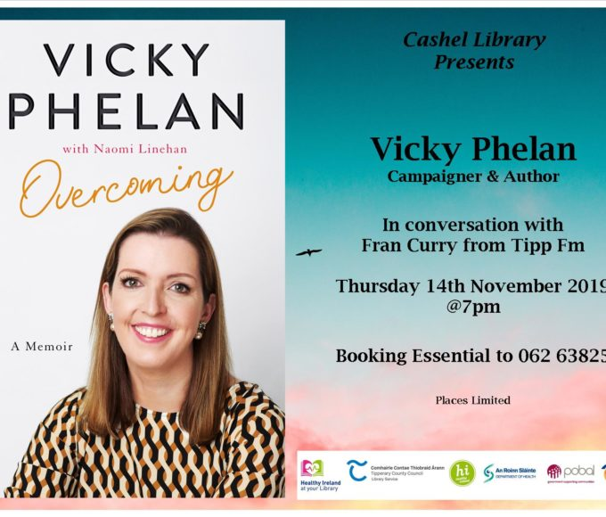Cashel: Vicky Phelan In Conversation With Fran Curry