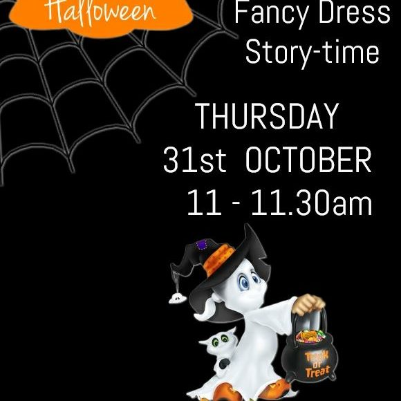 Halloween Events In Thurles Library!