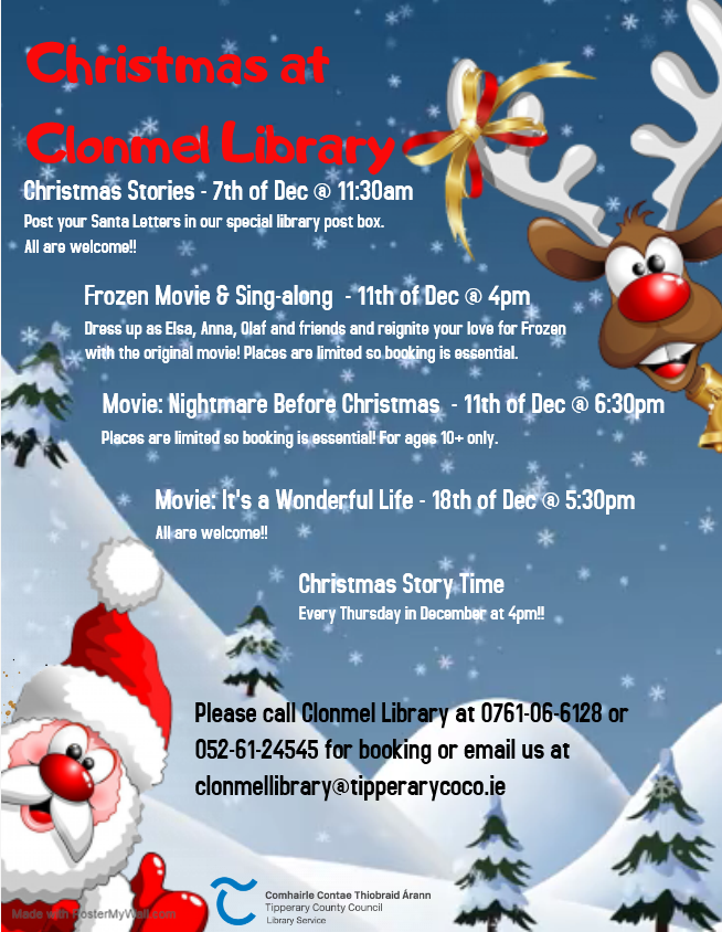 Christmas In Clonmel Library