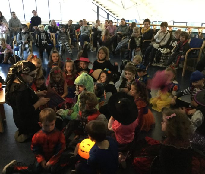 Halloween Storytime In Cashel Library