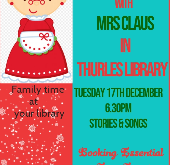 Christmas Pyjama Story-time In Thurles Library
