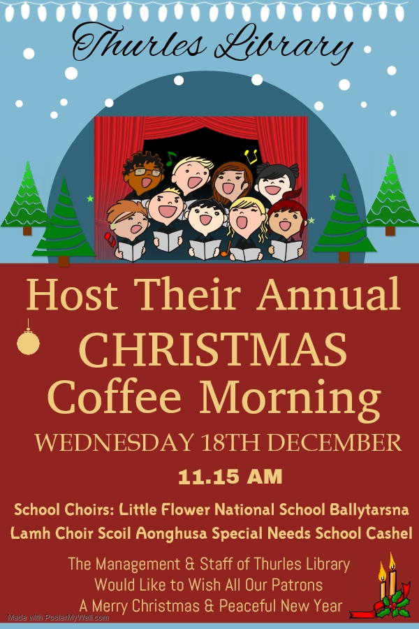Last Week Of Christmas Events In Thurles Library!