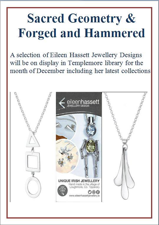 Templemore Library – Eileen Hassett Jewellery Design