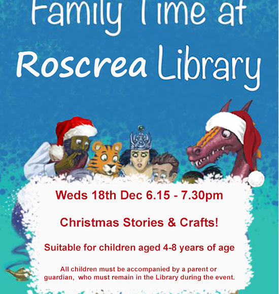 Christmas Stories And Crafts In Roscrea Library