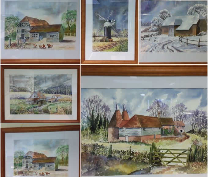 Templemore Library – Noel Morrissey – Watercolors