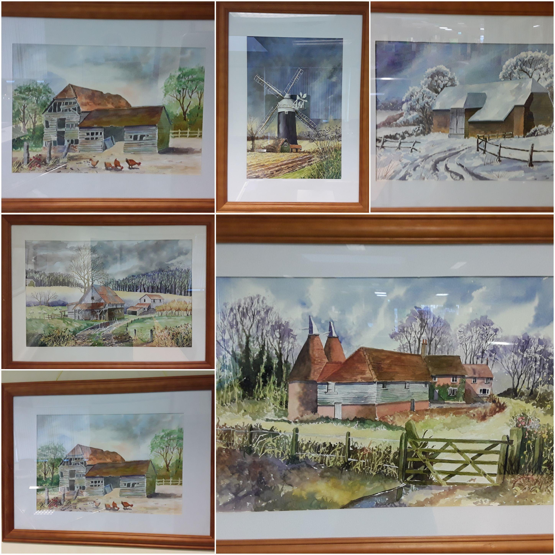 Templemore Library – Noel Morrissey – Watercolors