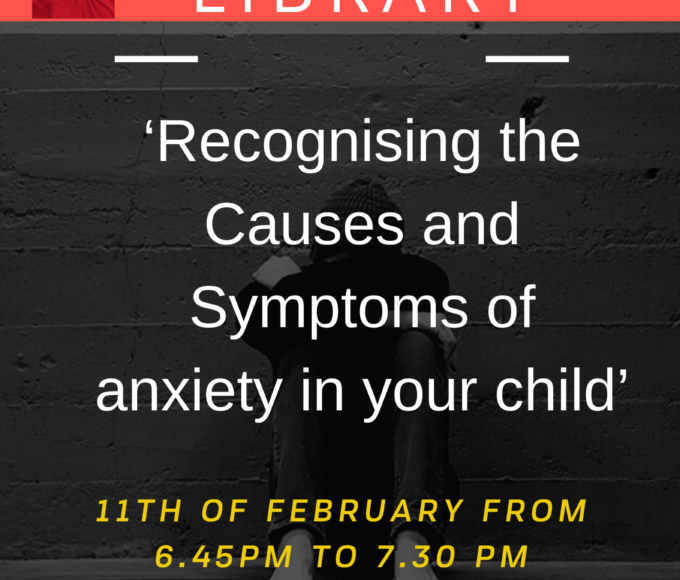 Recognising The Causes And Symptoms Of Anxiety In Your Child By Dr Mary Moloney In Nenagh Library