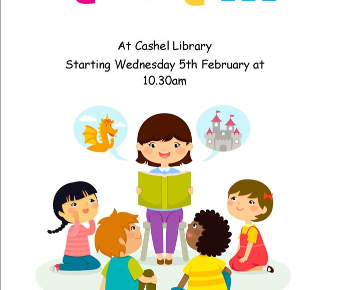 New Toddler Story-time Coming To Cashel Library!