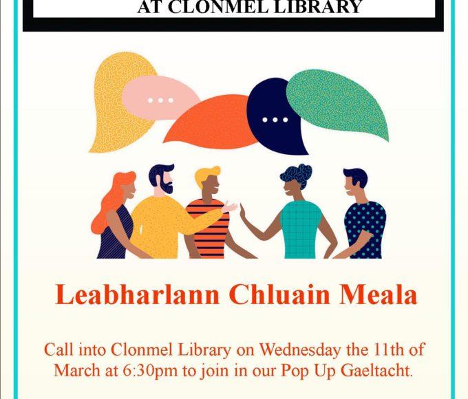 Clonmel Library: Pop-Up Gaeltacht