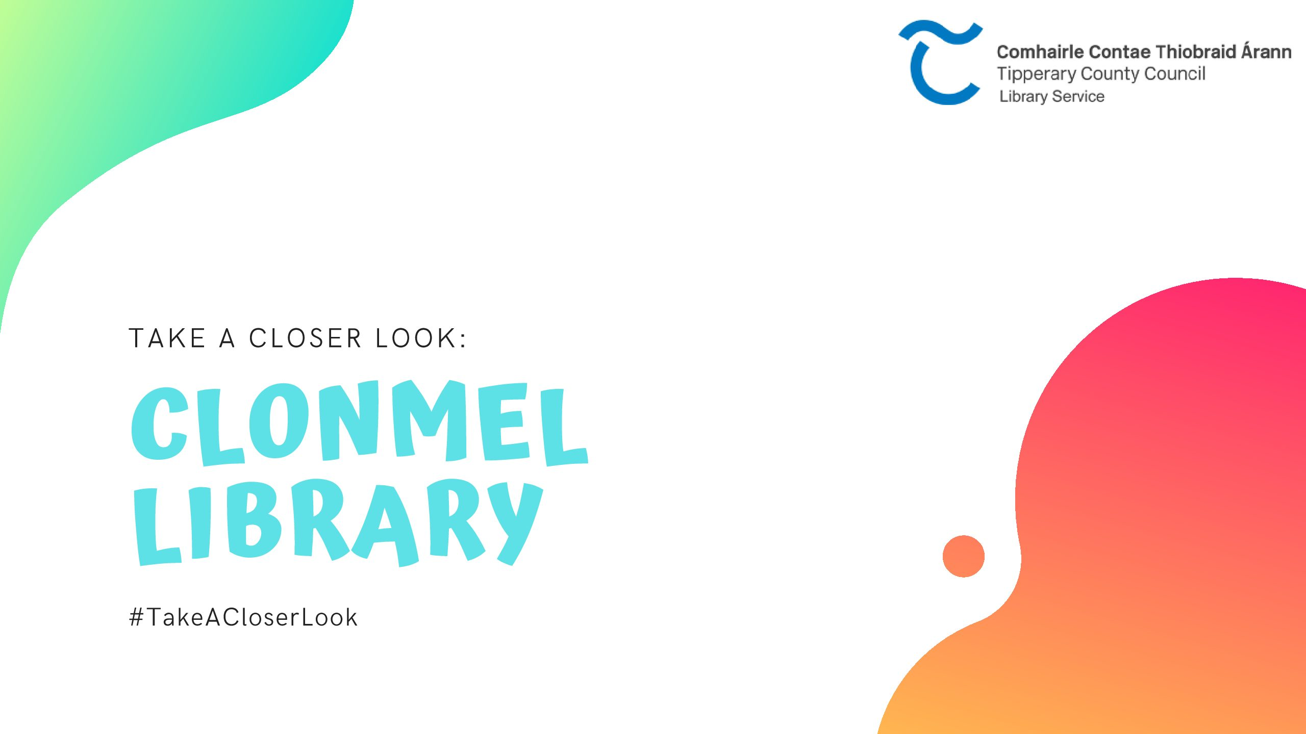 Take A Closer Look At Clonmel Library