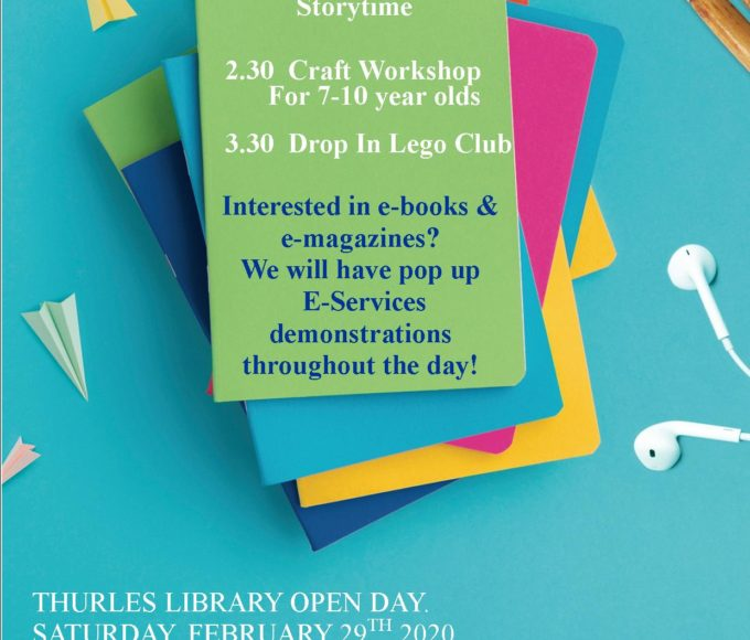 National Library Open Day In Thurles Library