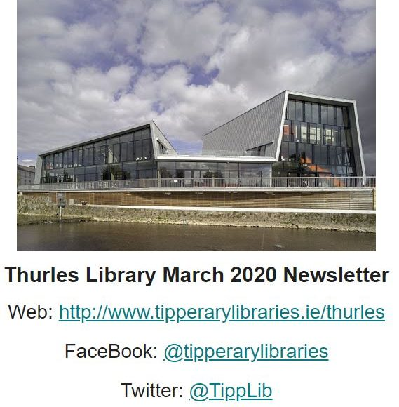 Thurles Library March 2020 Newsletter