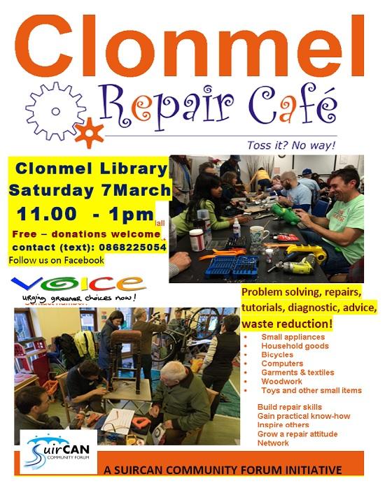 Clonmel Library: Repair Café