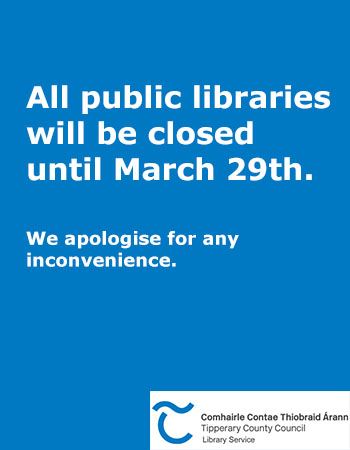 All Public Libraries Will Close From Today Until March 29th