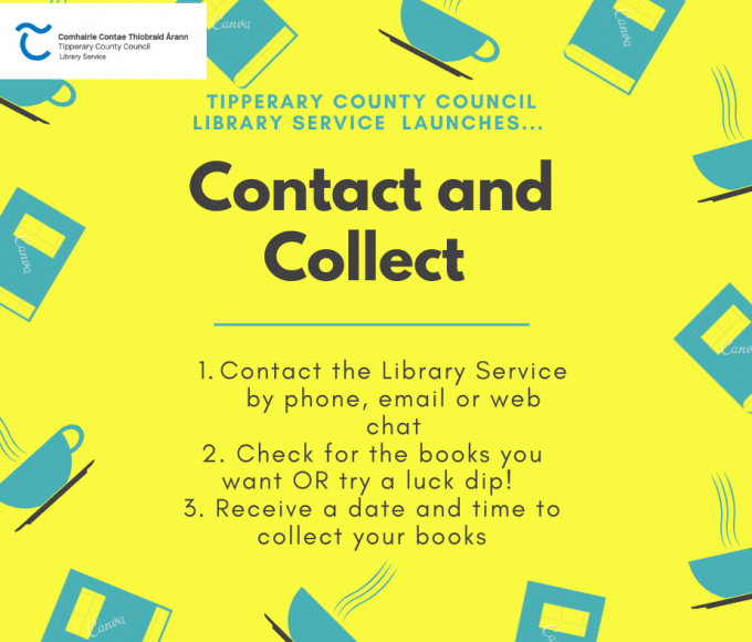 'Contact And Collect' Now Available From The Library Service