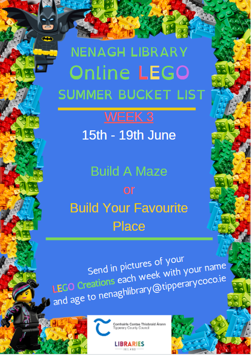 Nenagh Library Online LEGO Club Week 3.