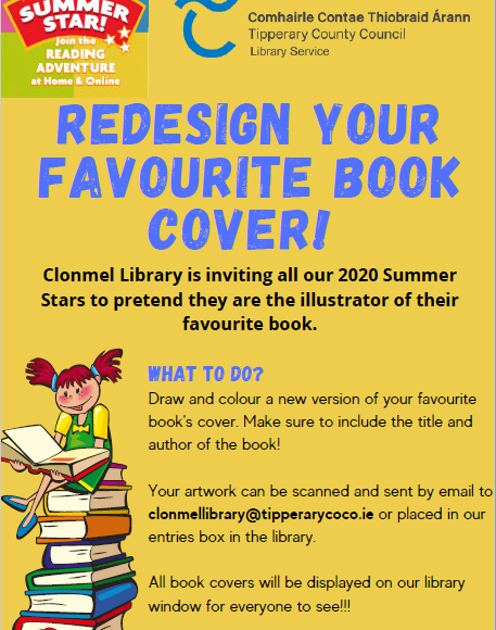 Clonmel Library: Redesign Your Favourite Book's Cover