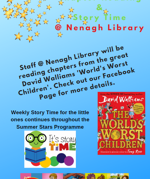 """World's Worst Children"" At Nenagh Library"