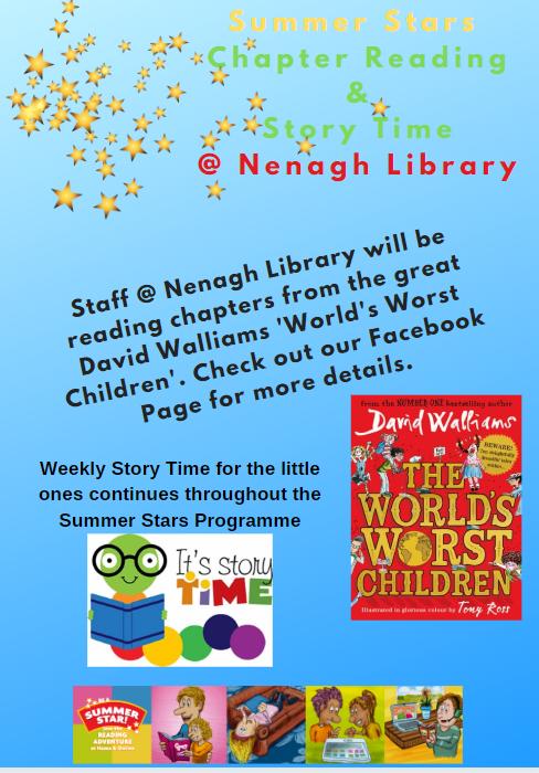 """World's Worst Children"" at Nenagh Library"