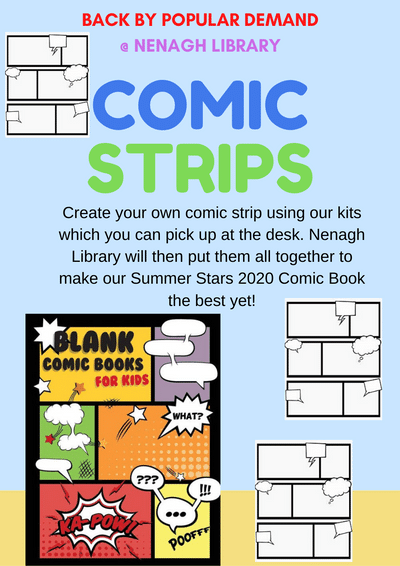 Nenagh Library Summer Stars 2020 Comic Book