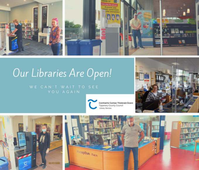 Most Of Our Libraries Are Now Open!