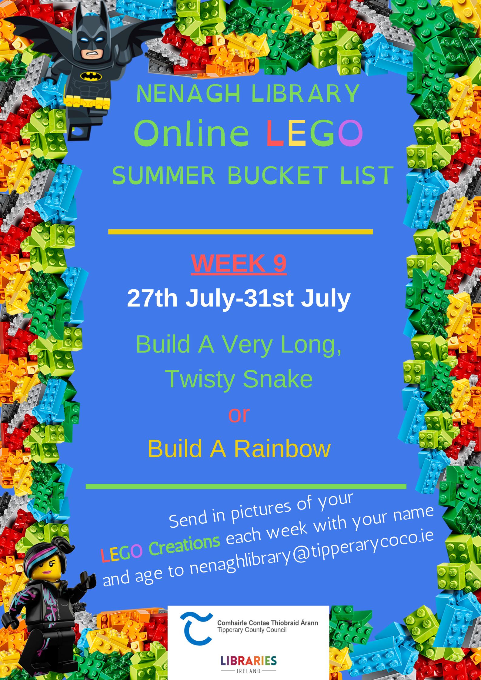 Nenagh Library Online LEGO Club.