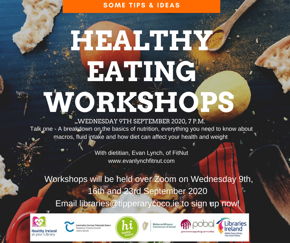 Library Service Presents Series Of Healthy Eating Workshops