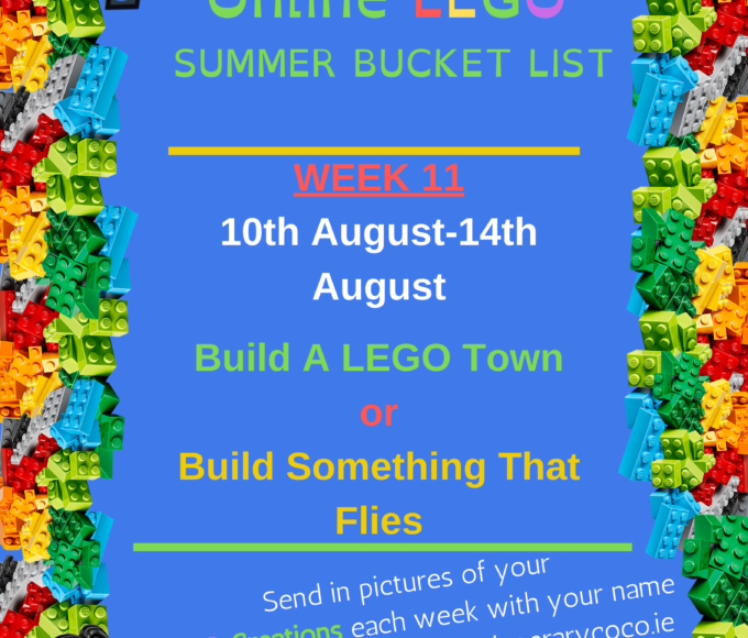 Another 2 Great Online Challenges From Nenagh Library Lego Club!