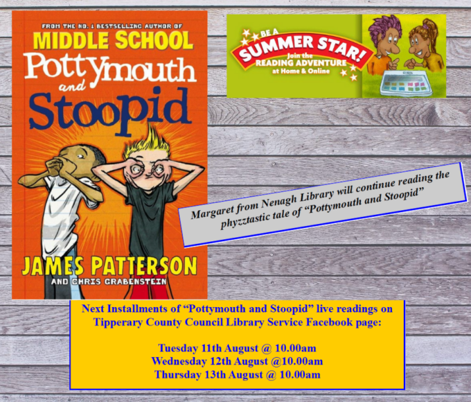 """The Continuing Story Of """"Pottymouth And Stoopid"""": Nenagh Library"""