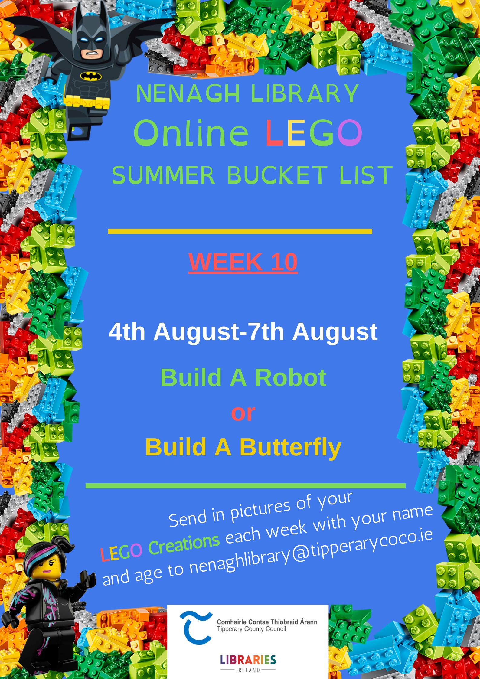 Nenagh Library Online LEGO Club