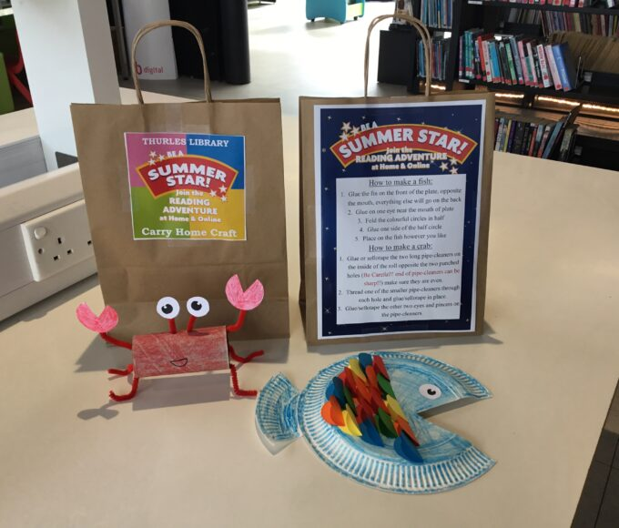 Collect Your Carry Home Craft Bag In Thurles Library