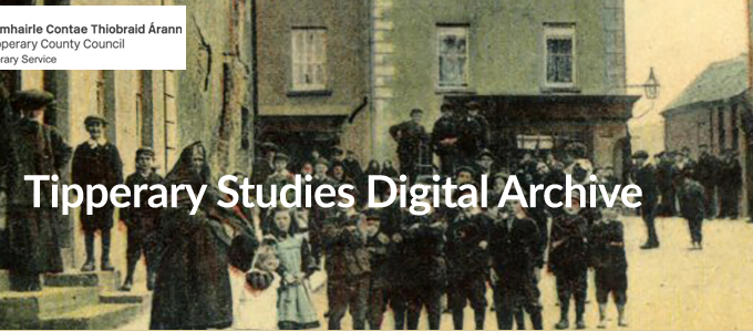 Tipperary Studies' New Website: Www.tippstudiesdigital.ie