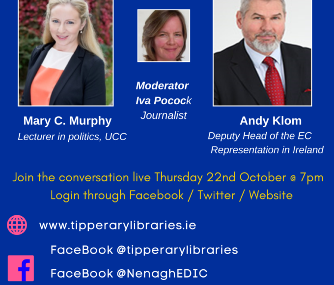 A New Push For European Democracy- Live Online Talk: Nenagh Library