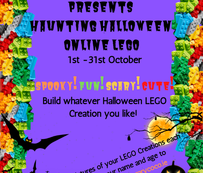 Nenagh Library Presents Haunting Halloween Online LEGO!