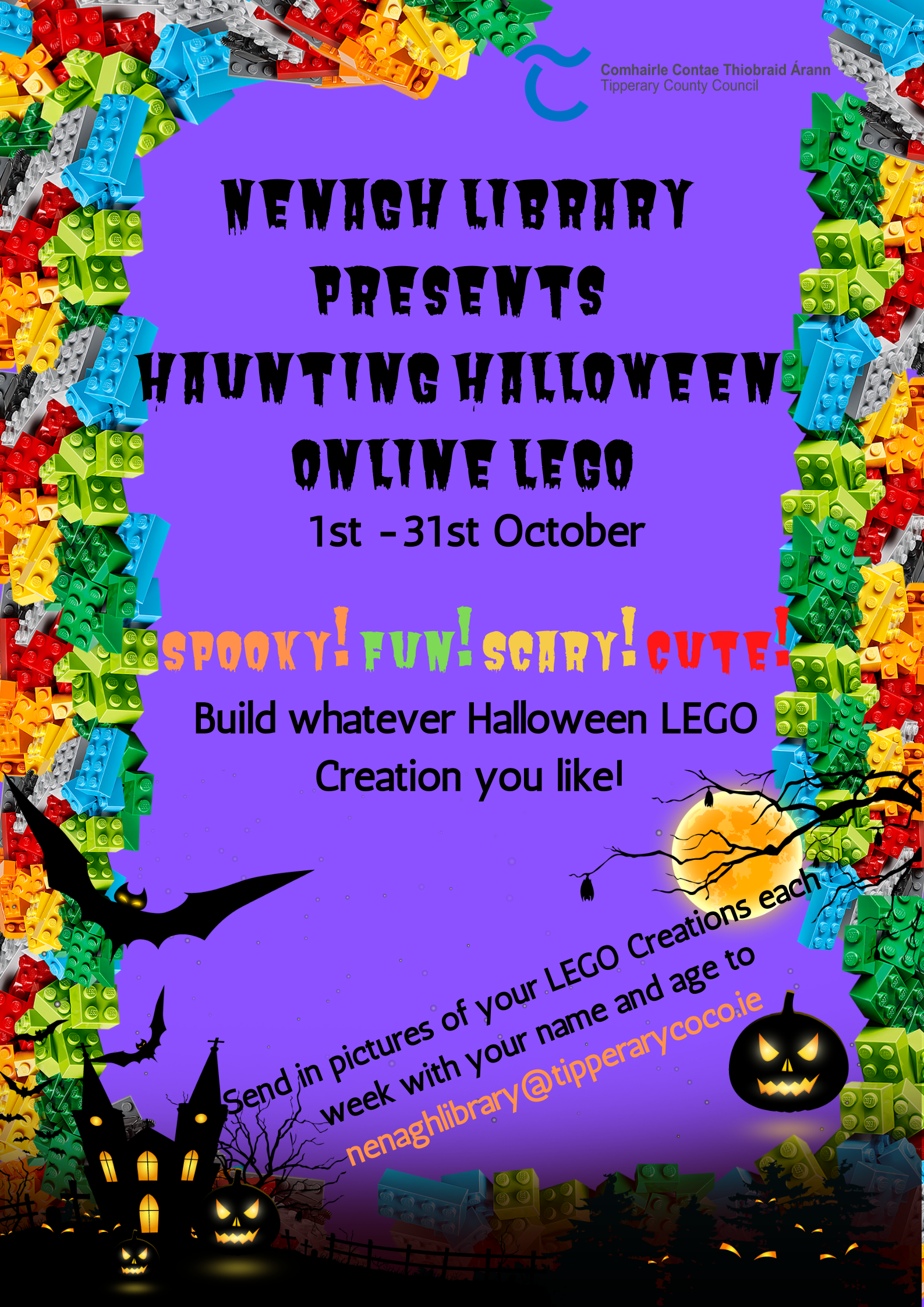 Halloween Online LEGO Poster