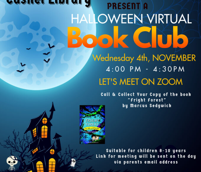 Cashel Library Virtual Book Club!