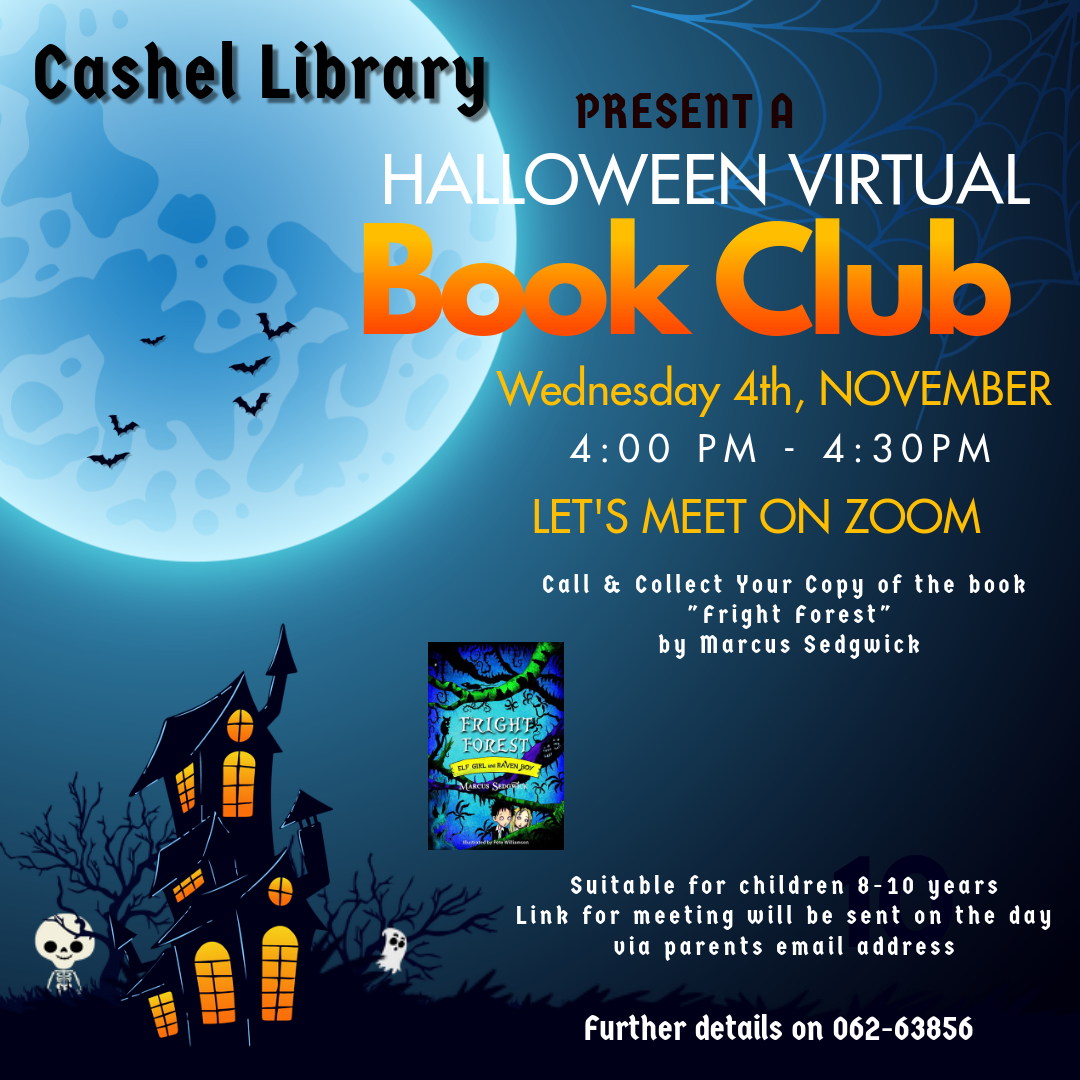 Cashel Library Virtual Book Club!
