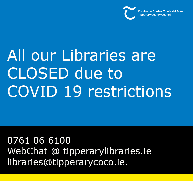 Libraries are Closed due to COVID-19 restrictions