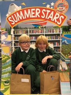 Tipperary Town; Happy Faces Collecting Their Summer Stars Bags.